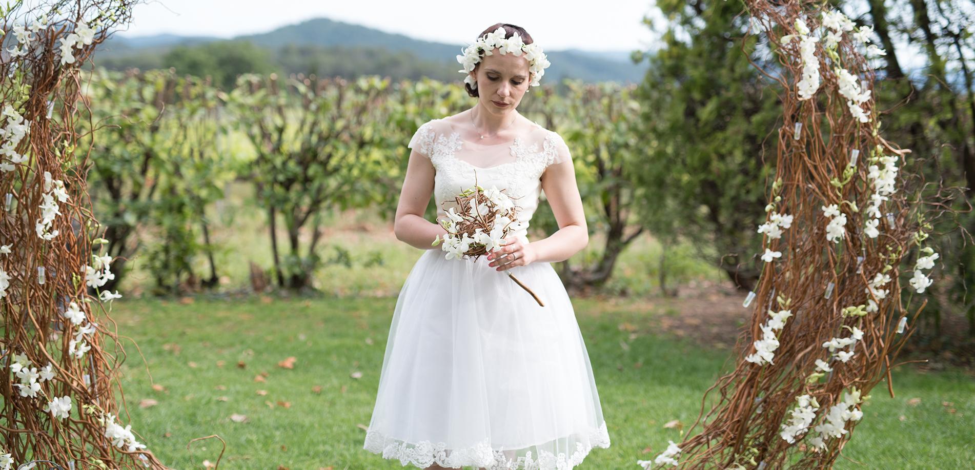 Fleurs de thé rêves Fleuriste mariage var et paca