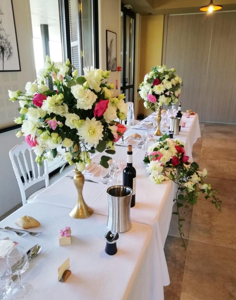 Fleurs de thé rêves - Fleuriste mariage Var PACA
